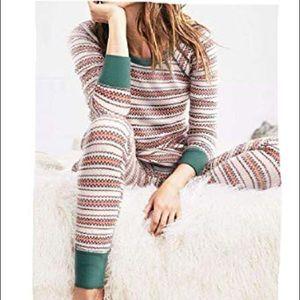 Victoria's Secret fireside thermal pajama set M/L